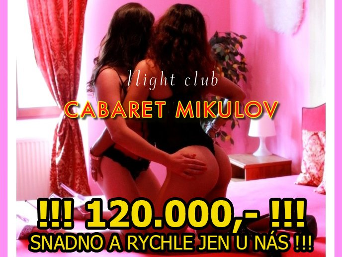 120.000,- SNADNO JEN U NÁS!!!
